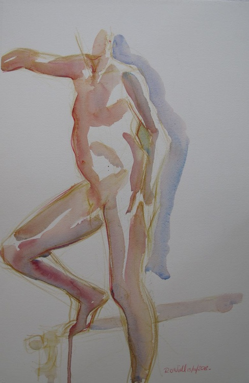 standing male nude - Image 0