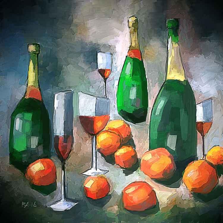 Wine $ Tangerines -