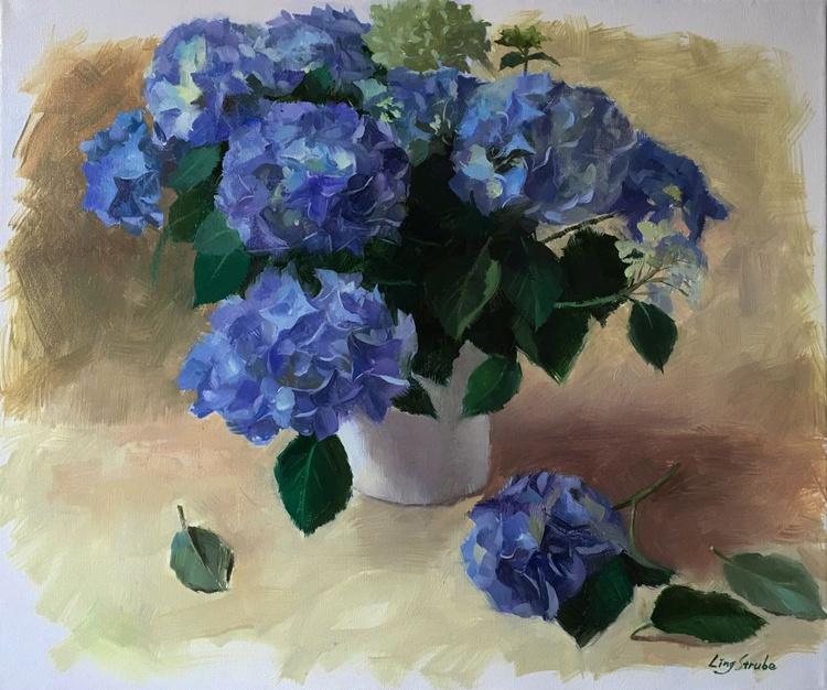 Blue Hydreangeas - Image 0