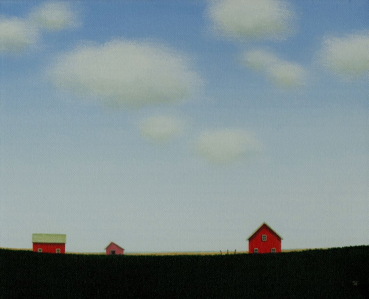 Red Barn on the old Farmstead - Image 0