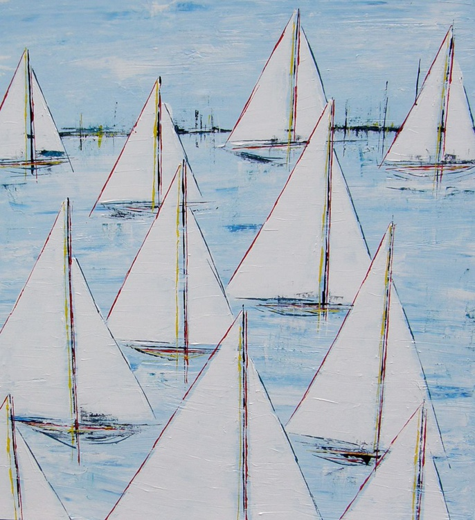 Summer Sails 40x40 - Image 0