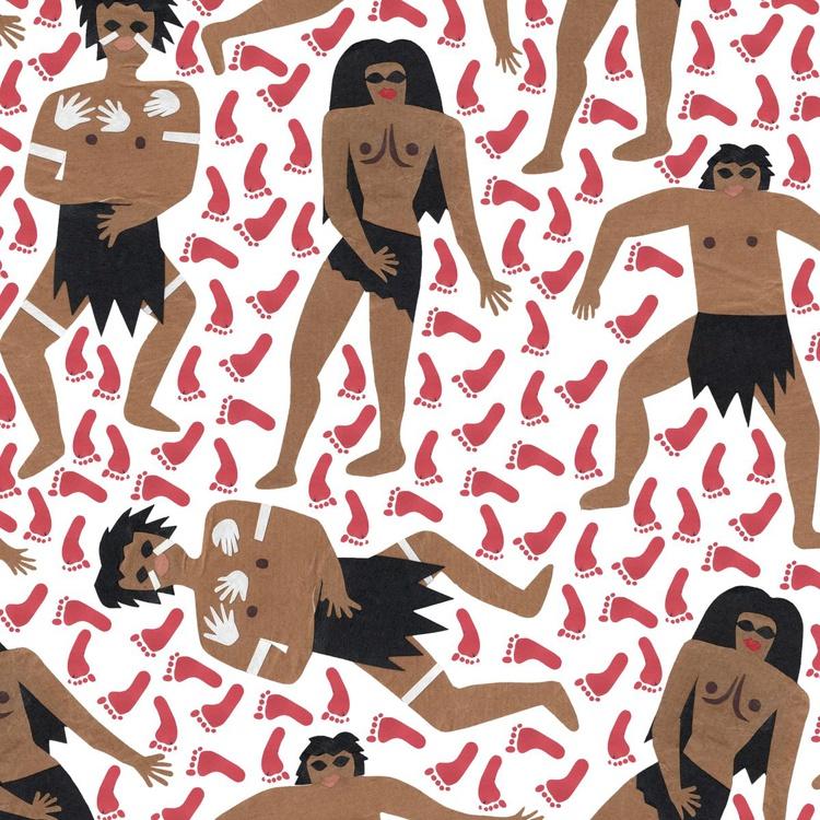 Aboriginal print - Image 0