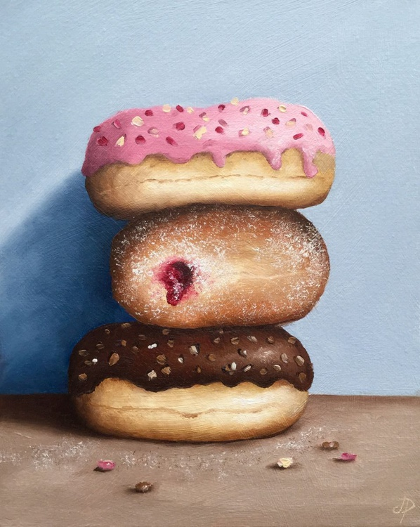 Donut trio - Image 0