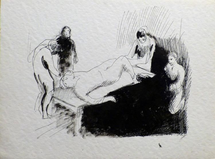 Hospital 1, 24x32 cm - Image 0