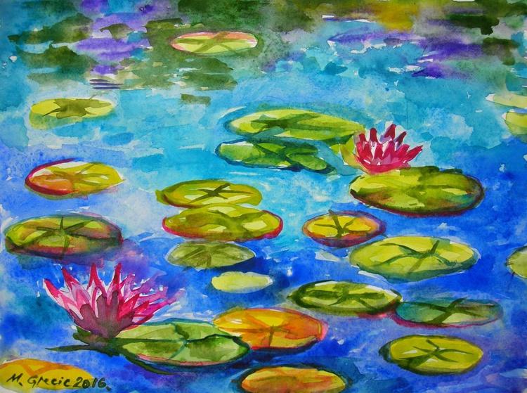 Water lilies III - Image 0