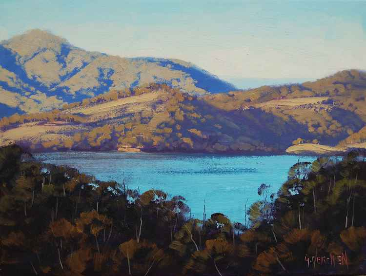 """ View to Lake Lyell "" Lithgow  , nsw"