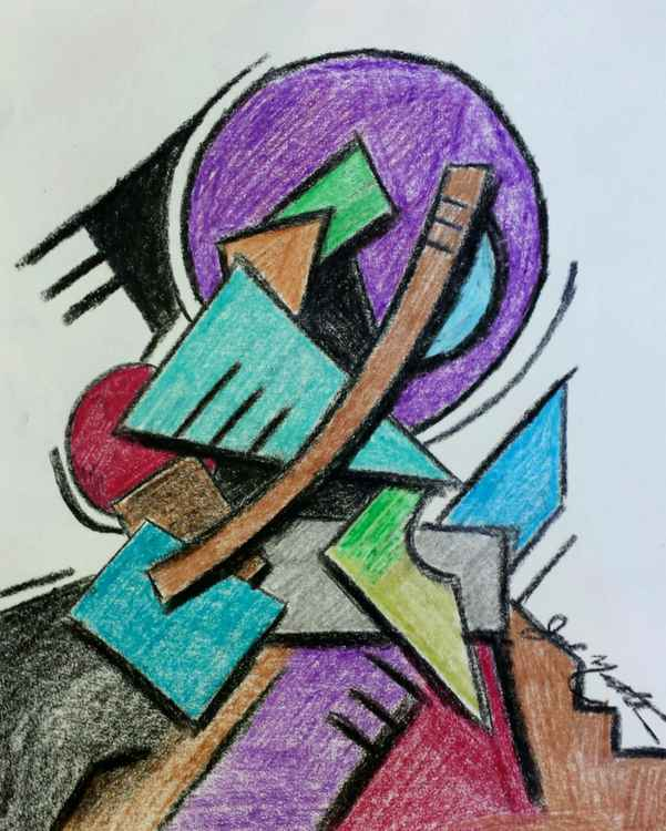 Abstract Man -
