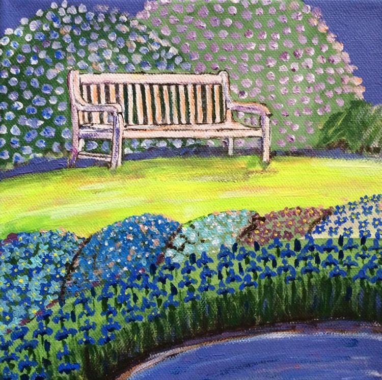 BLUE GARDEN 8 - BENCH - Image 0