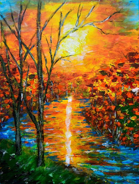 Colorful  River - Image 0