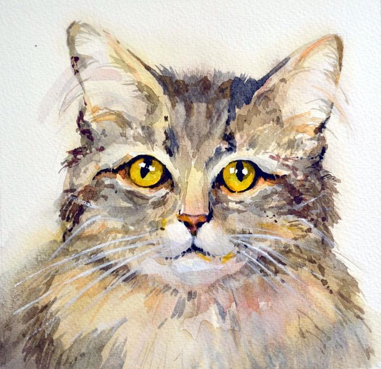 Gray Cat. - Image 0
