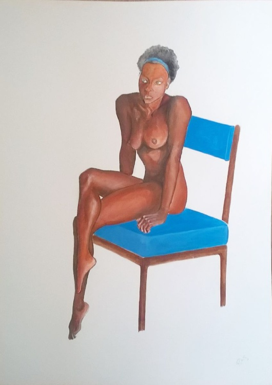 The Blue Chair - Image 0