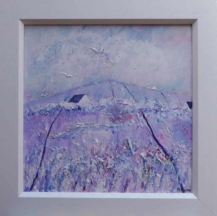 The Purple Scene (framed) - Image 0