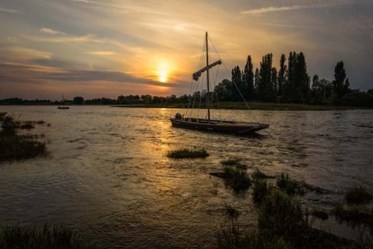 Loire Sailing Boat  - Limited Edition Print - Image 0