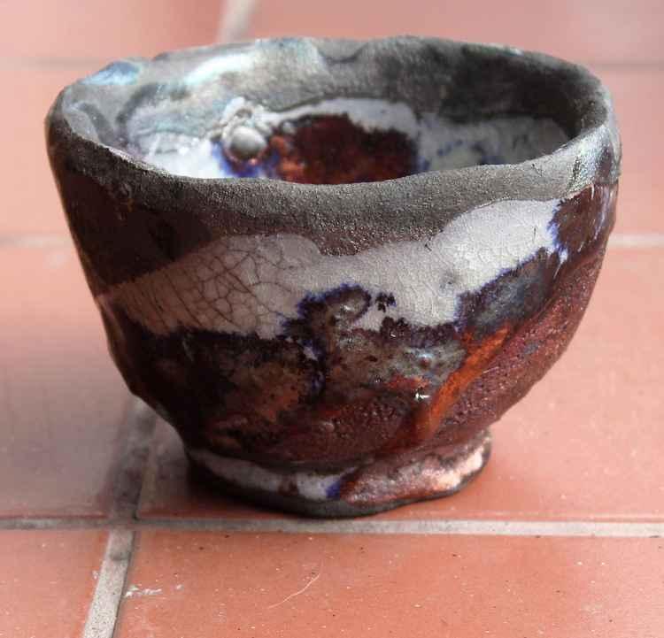 Raku Tea Bowl -