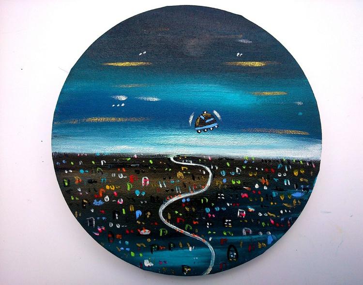 Round imaginary city - Image 0