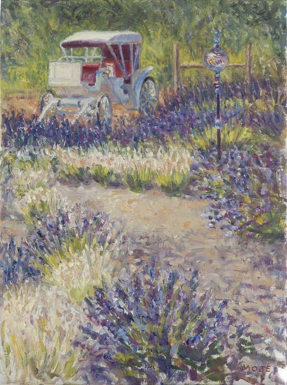 Carriage/Lavender Labyrinth - Image 0