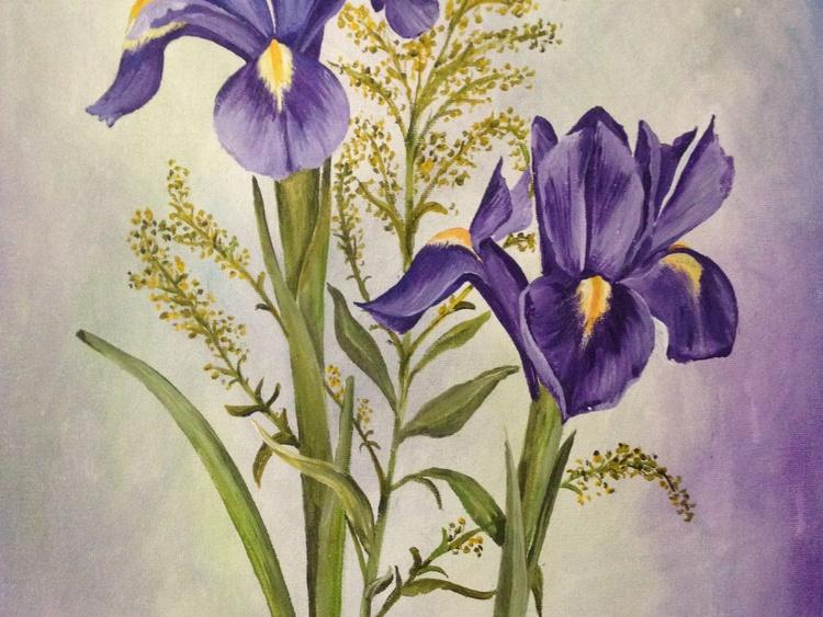 The Purple Irises - Image 0
