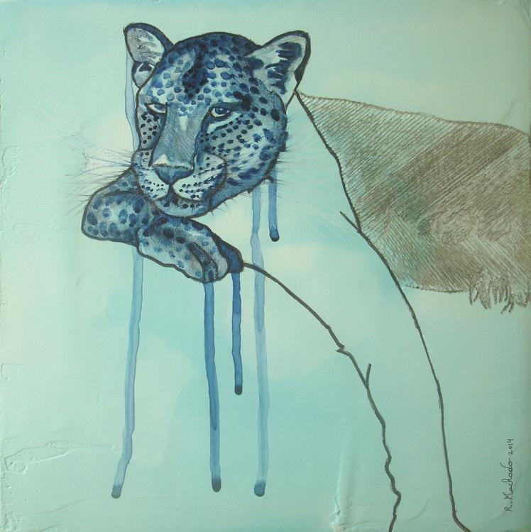Leopard Carved I - Image 0