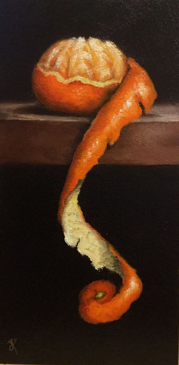 Peeled Clementine No. 7 - Image 0