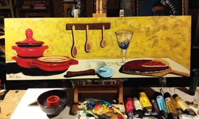"""Commission - """"A Few of My favorite Things II"""" by William F. Adams"""