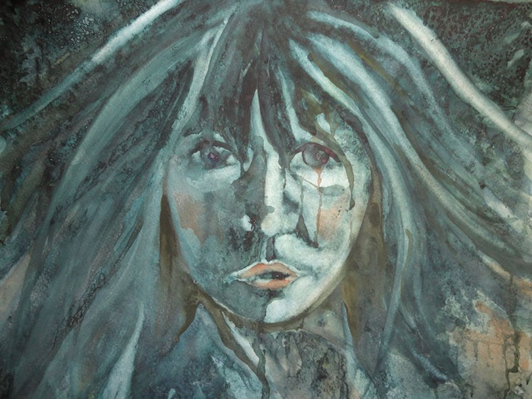 Abstract portrait of a woman - Image 0