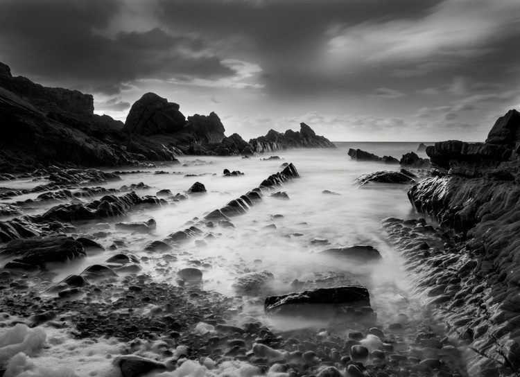 Incoming Tide, Bude - Image 0