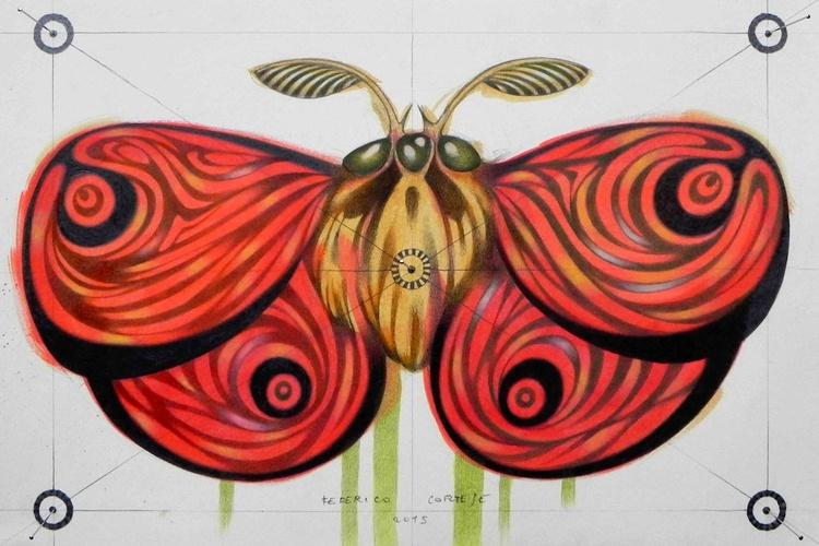 red moth - Image 0