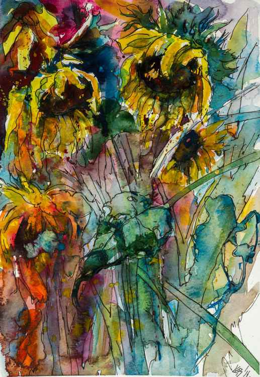 Sunflowers -