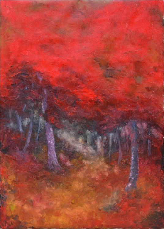 LADIES IN RED, 50x70cm - Image 0