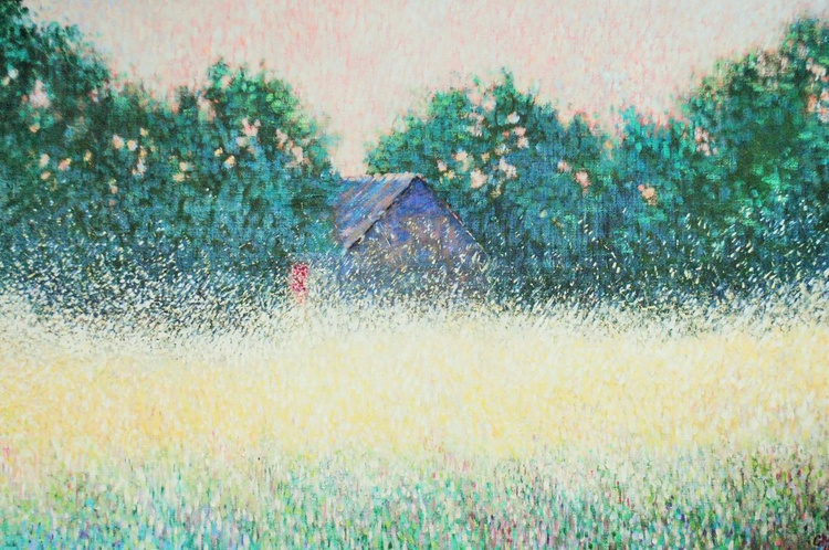 A Barn in July - Image 0