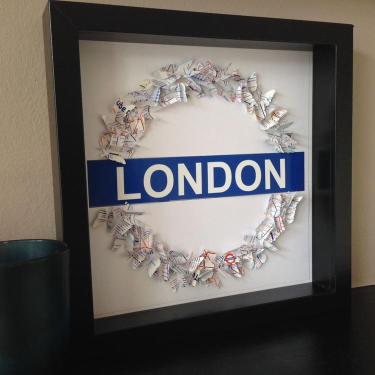 London Underground Butterflies - Image 0