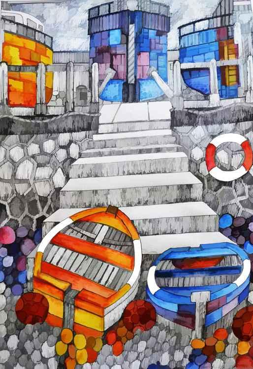 Quayside Steps -