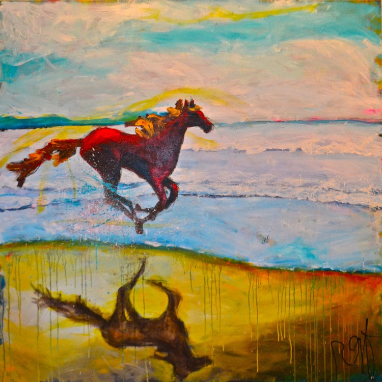 Painted Ponies - The Reflection - Image 0