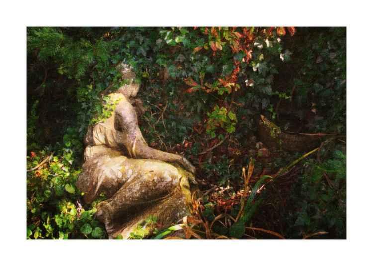 Sad statue-2 -