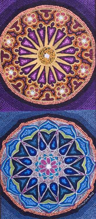 Two Mandalas -