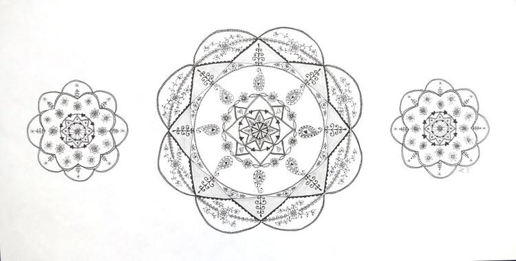 Mandala Trio - Image 0