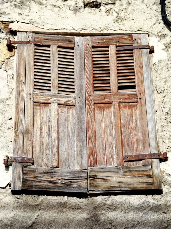Rustic French Doors - Image 0