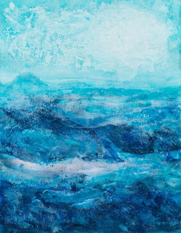 Blue landscape - Image 0