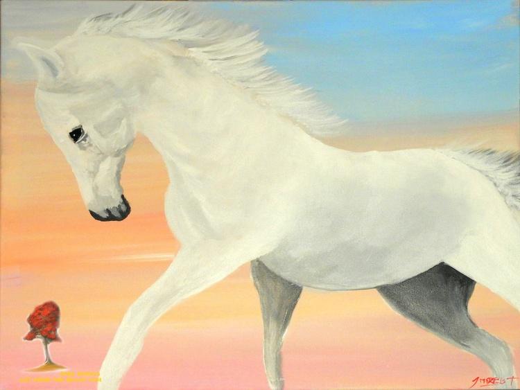 The White Stallion - Image 0