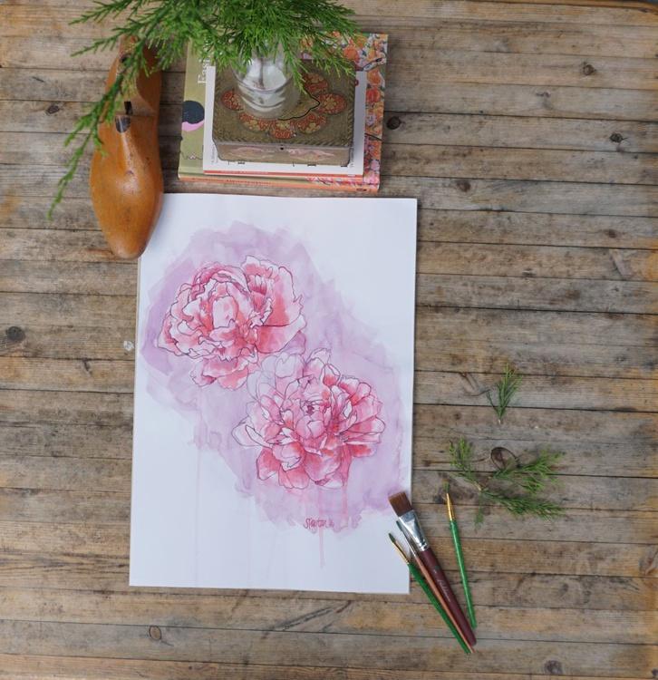 Petal Fade Watercolour - Image 0