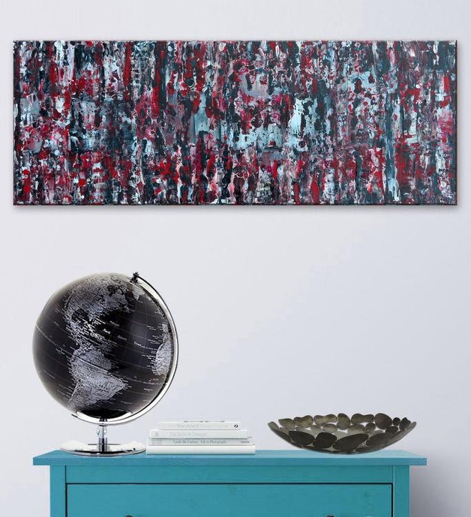 Abstract No. 77-Deep Edge Canvas Ready To Hang - Image 0