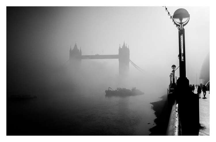 Tower Bridge in Fog, 2 - Image 0