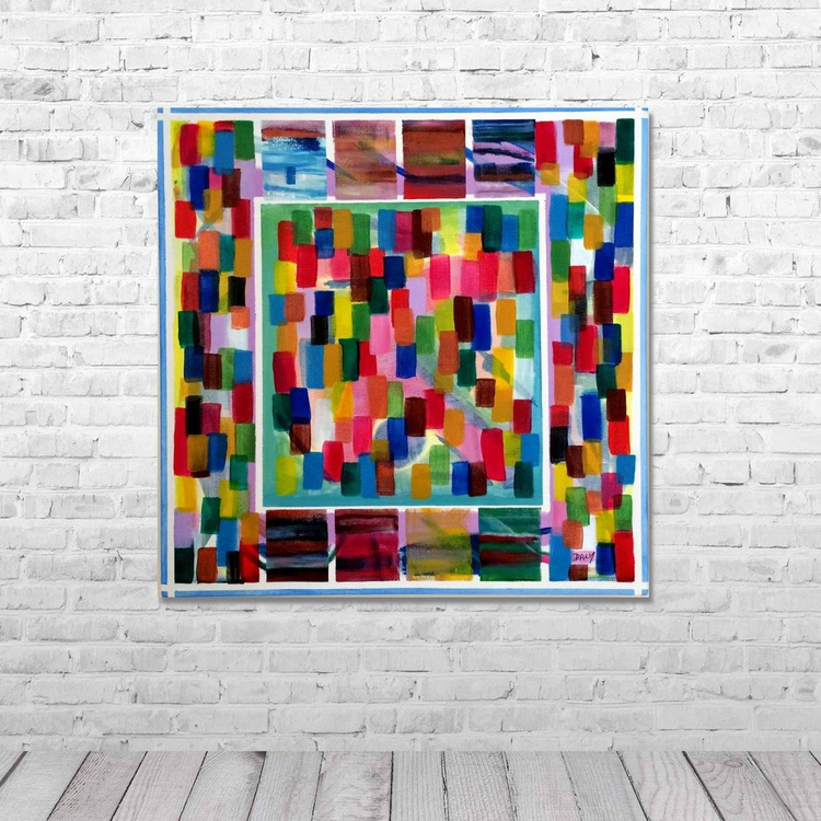 TabStepOne by Dermot Daly  ( 40 X 40 cm ) - Image 0