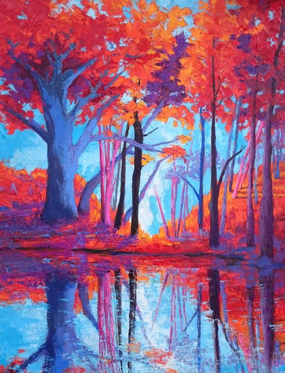 Reflections of the Soul - Landscape painting - Image 0