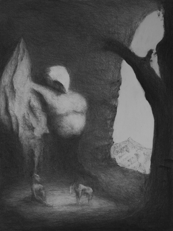Illustration for an unwritten tale (after Thomas Barker) - Image 0