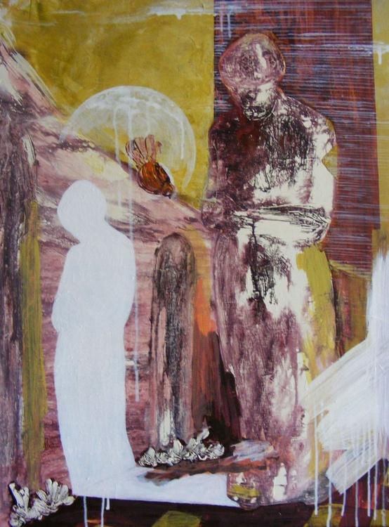 Kneeling shadow - Image 0