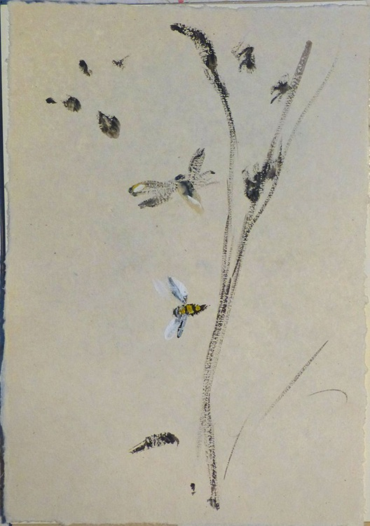 THE BEE for Great British Bee Count #3, 21x29 cm - Image 0