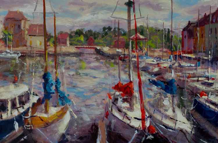 Boats of Honfleur