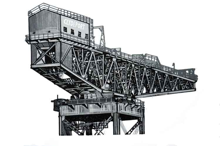 Crane Number 7 -