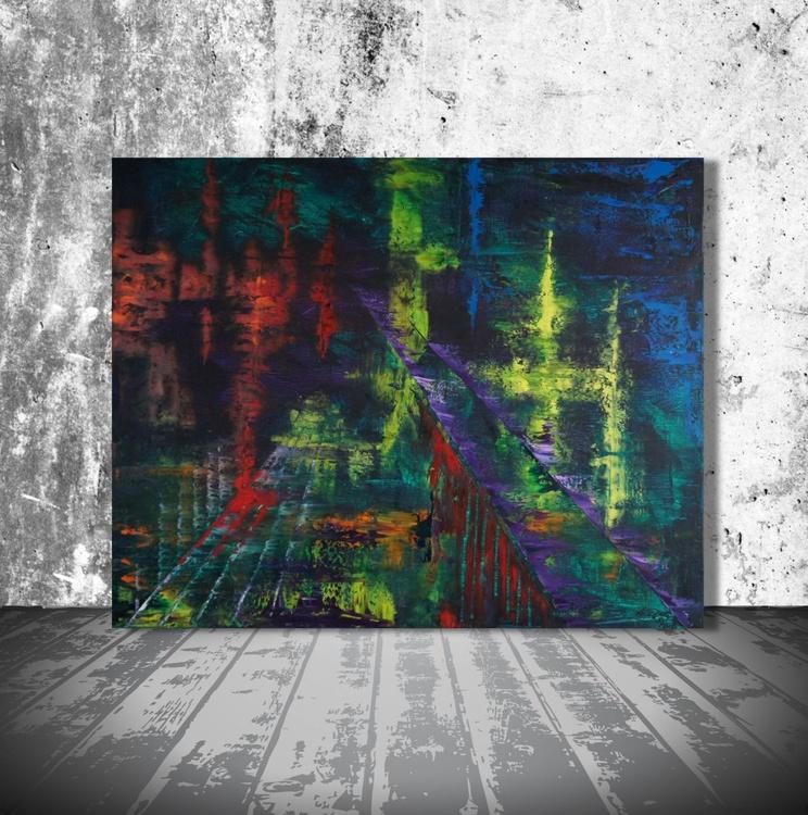 Bridged Nightlife (100 x 80 cm) - Image 0